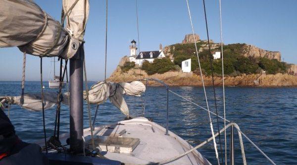 Sortie en bateau en Baie de Morlaix