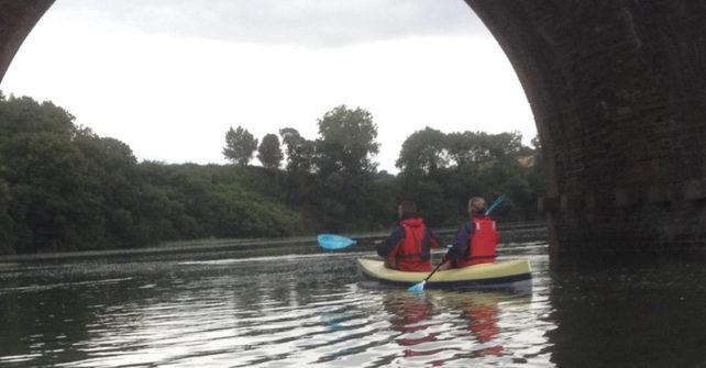 """Balade en kayak dans l'estuaire de la rivière"""" La Penzée"""""""
